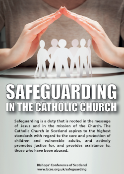 Image result for safeguarding catholic church scotland leaflet