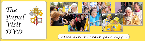Order Your Papal Visit DVD Now!